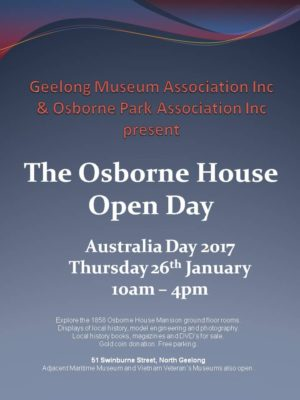 open day poster 2017